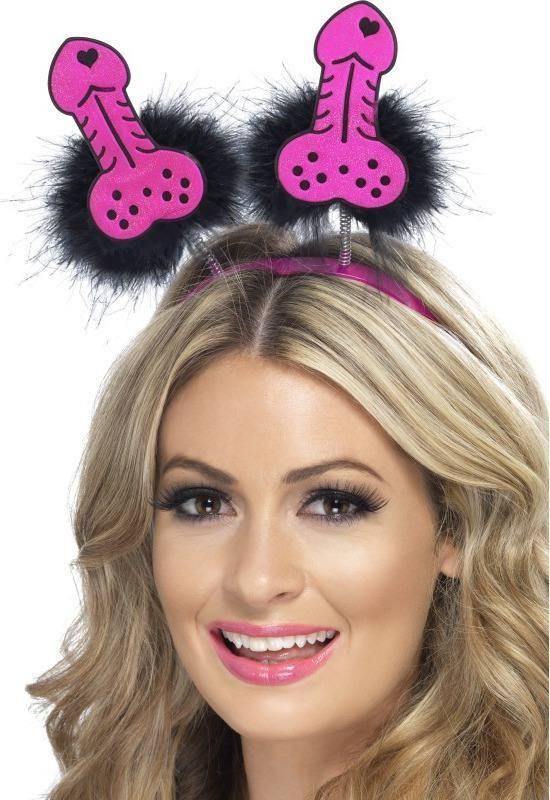 Ladies Willy Boppers Hen & Stag - (Pink)