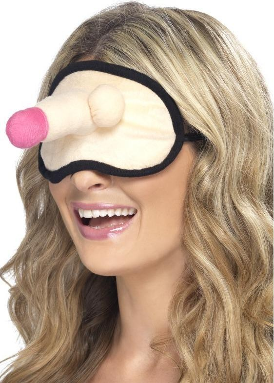 Hen Night Plush Willy Eyemask Hen & Stag Other