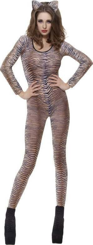Ladies Tiger Print Bodysuit Other