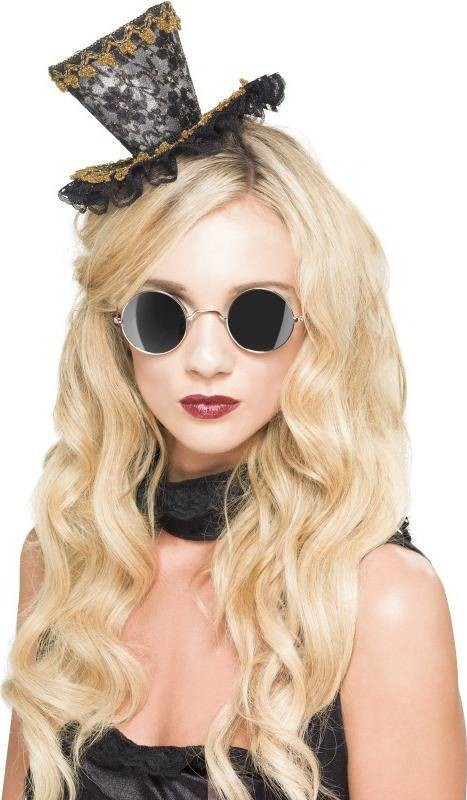 Adult Unisex Steam Punk Glasses Halloween Glasses