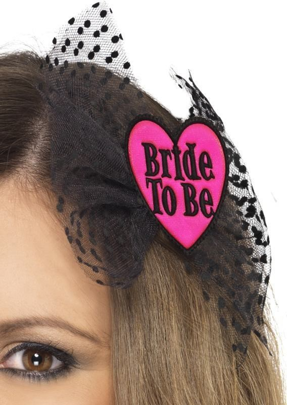 Ladies Bride To Be Hair Bow Hen & Stag Other