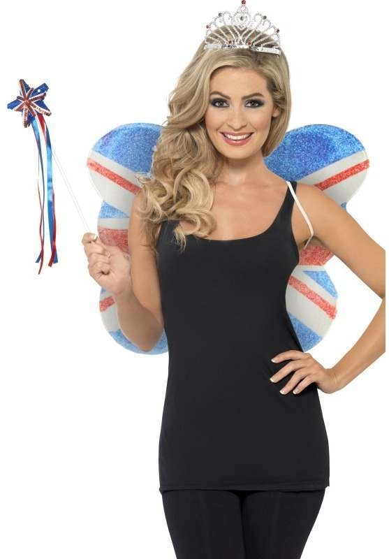 Ladies Union Jack Fairy Kit Other