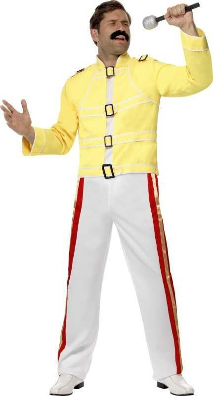Mens Rock Star Economy Costume Music Outfit
