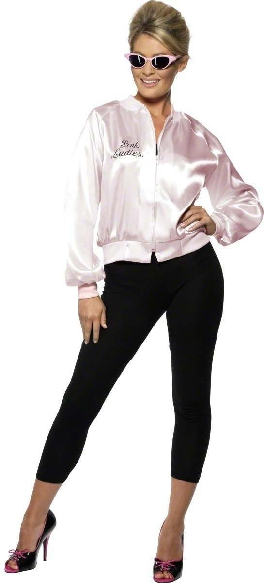 Pink Lady Jacket For Grease - Fancy Dress (Film)