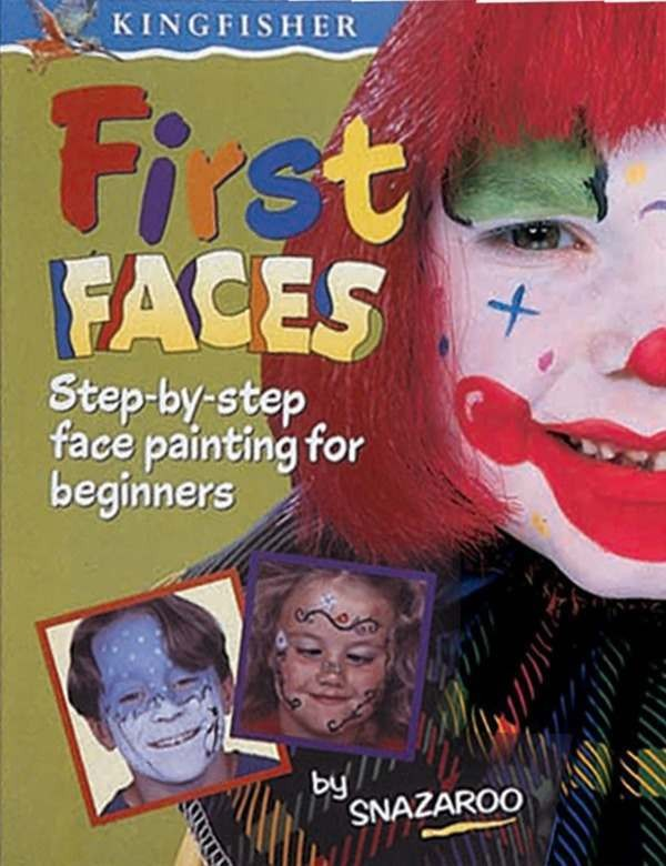 First Faces Snazaroo Book - Fancy Dress