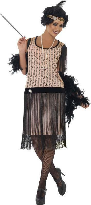 Ladies 1920'S Coco Flapper Costume 1920'S Outfit