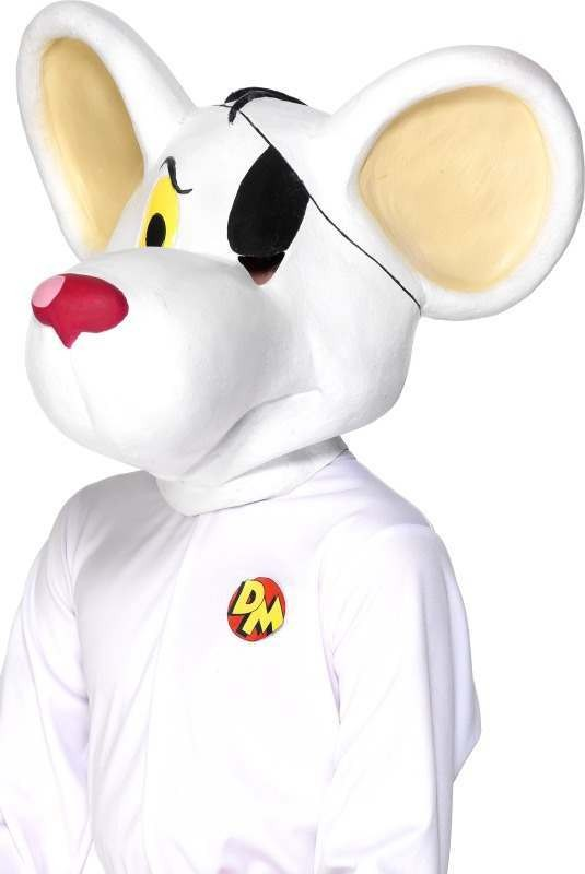 Dangermouse Full Head Mask - Fancy Dress (Cartoon)