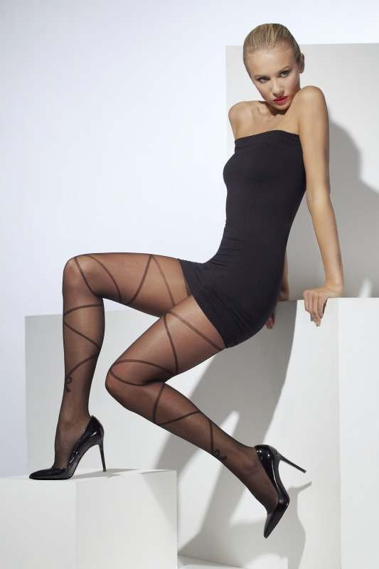 Sheer Tights Tights - (Black)