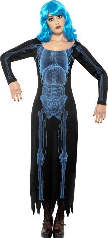 Ladies X Ray Costume Halloween Outfit