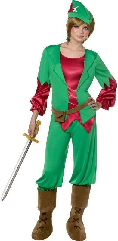 Teen Rebel Toons Peter Pan Fancy Dress Costume Boys (Fairy Tales)