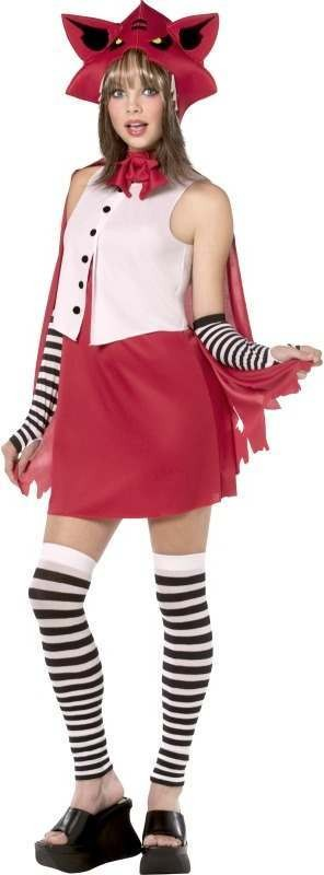 Teen Rebel Toons Red Riding Hood Fancy Dress Costume (Cartoon)
