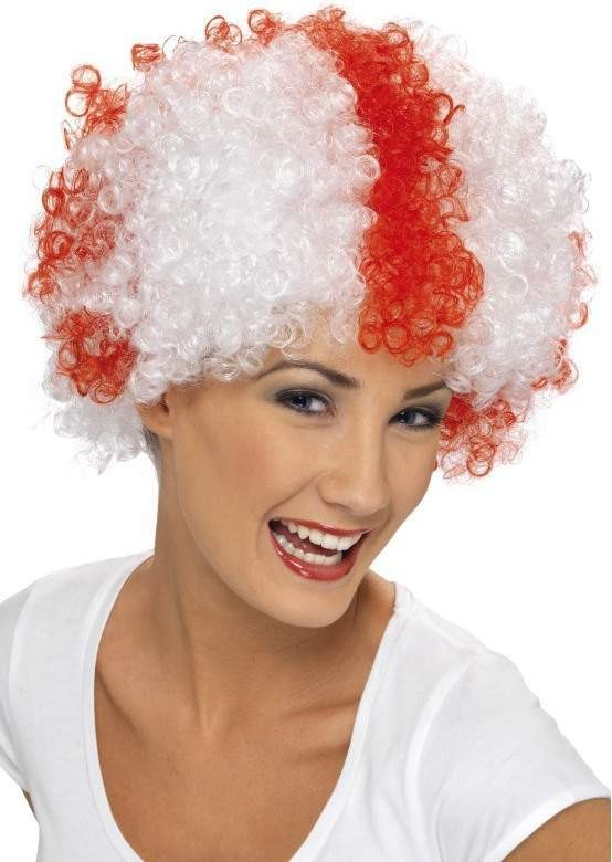St George Supporters Wig - Fancy Dress