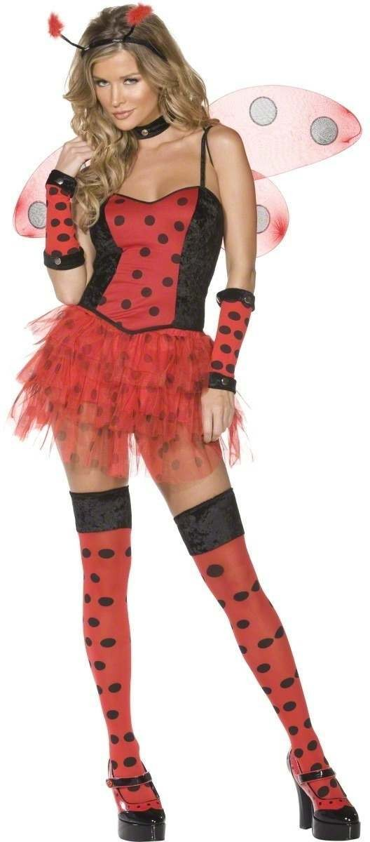 Fever Lady Bug Fancy Dress Costume Ladies (Sexy)