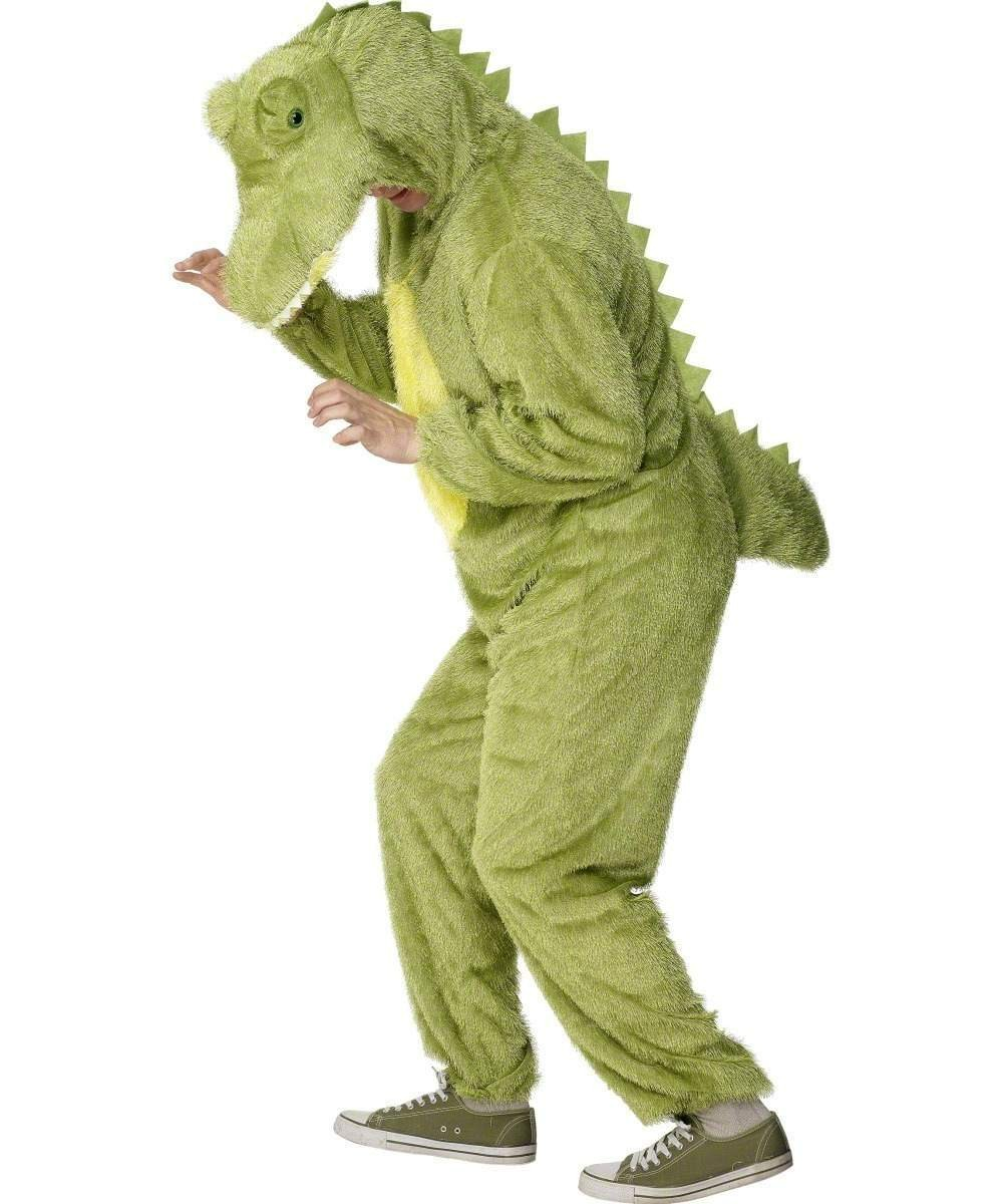 Adult Unisex Crocodile Costume Animal Outfit - Unisex Large