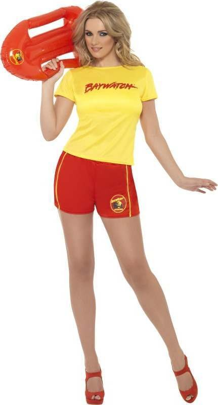 Ladies Baywatch Beach Costume Tv Outfit