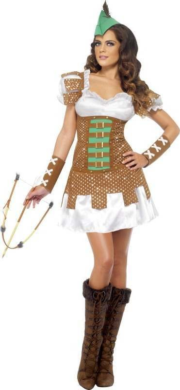 Ladies Fever Boutique Robyn Costume Fairy Tales Outfit