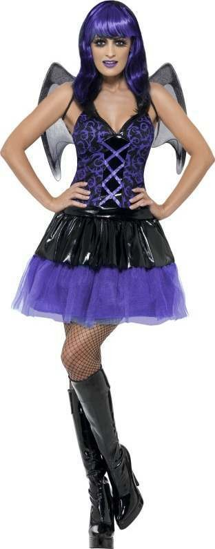 Ladies Tainted Garden Demoness Costume Halloween Outfit