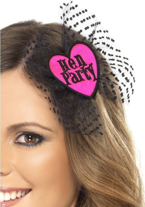 Ladies Hen Party Hair Bow Other