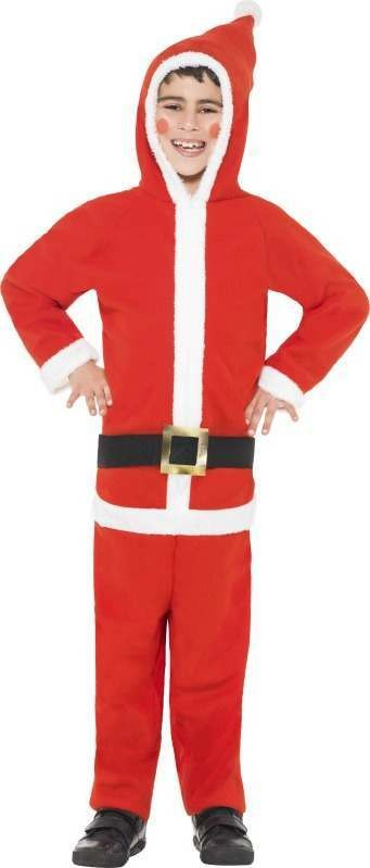 Boys Santa Boy Costume Christmas Outfit