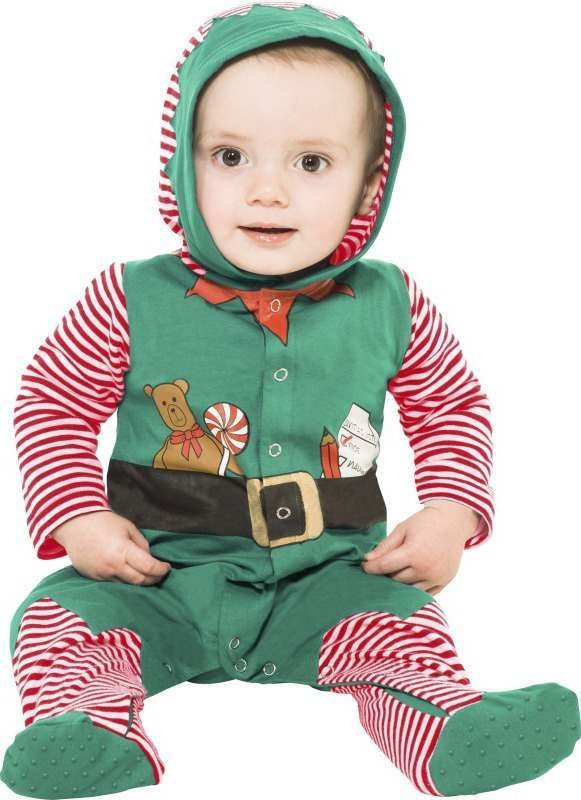 Toddler Elf Baby Grow Christmas Outfit - Toddler