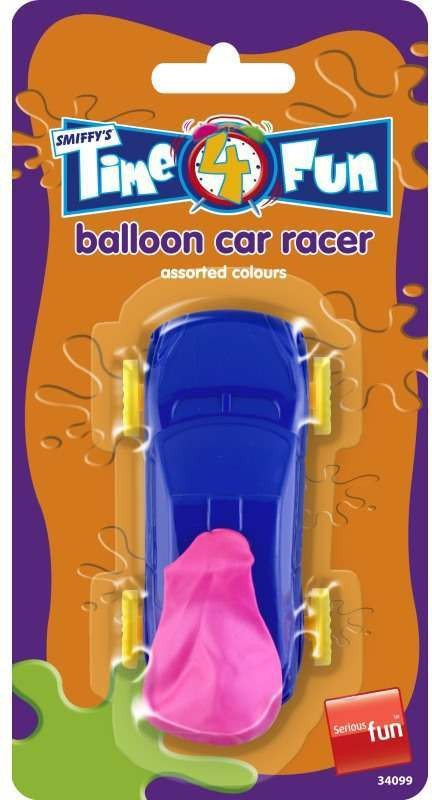 Balloon Car Racer - (Multicolour)