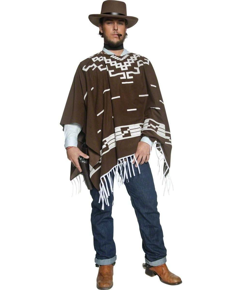 Mens Authentic Western Wandering Gunman Costume Cowboys/Indians