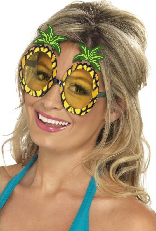 Pineapple Specs Glasses - (Yellow)