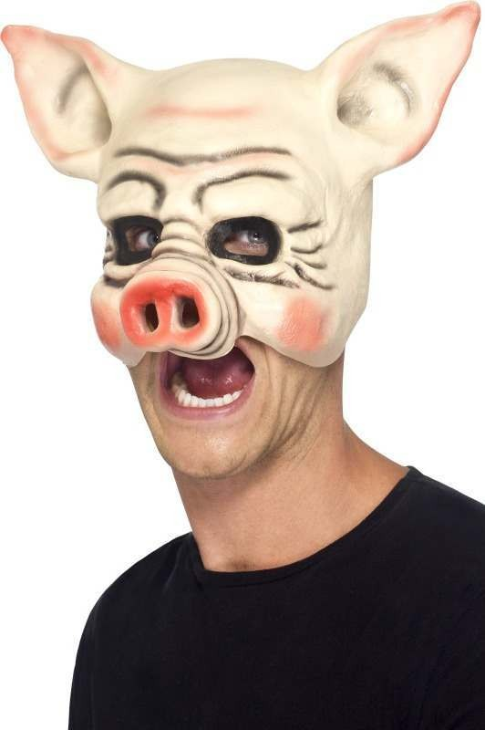 Adult Unisex Pig Mask Masks