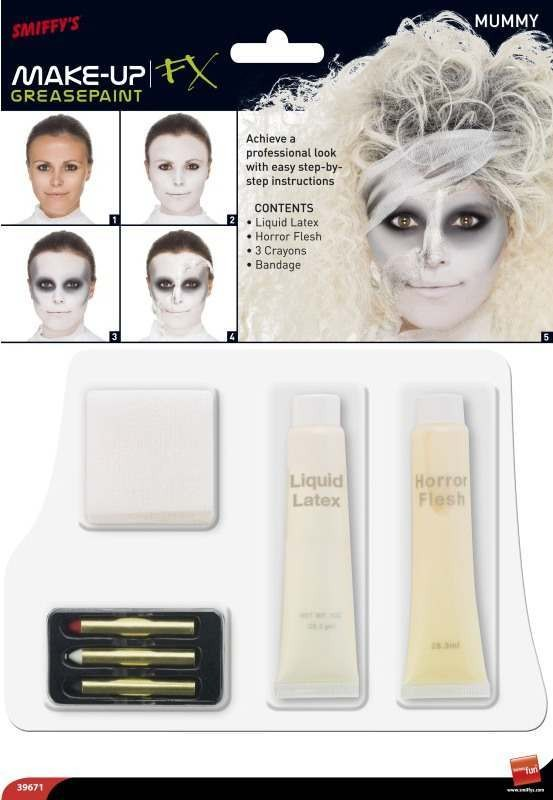 Mummy Special Effects Kit Facepaints