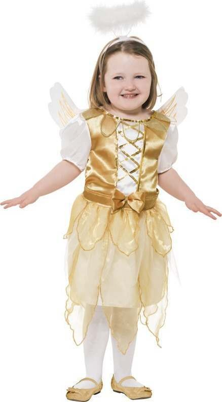 Girls Angel Fairy Christmas Outfit