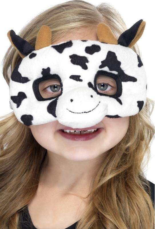 Child Unisex Child Plush Eyemask,Cow Eyemasks