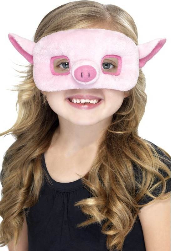 Child Unisex Child Plush Eyemask,Pig Eyemasks