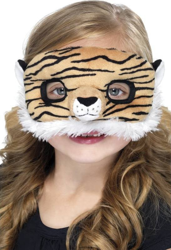 Child Unisex Child Plush Eyemask,Tiger Eyemasks