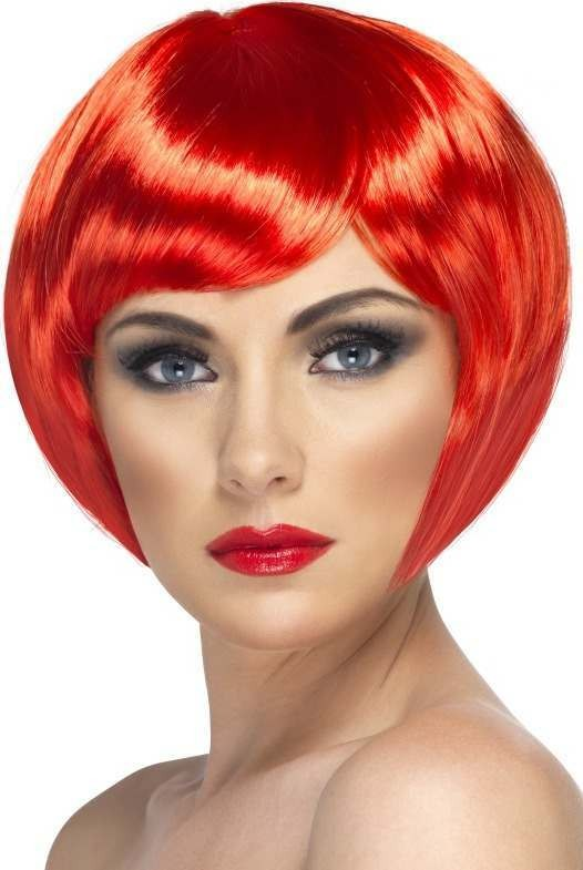 Babe Wig (Fancy Dress Wigs) - Red