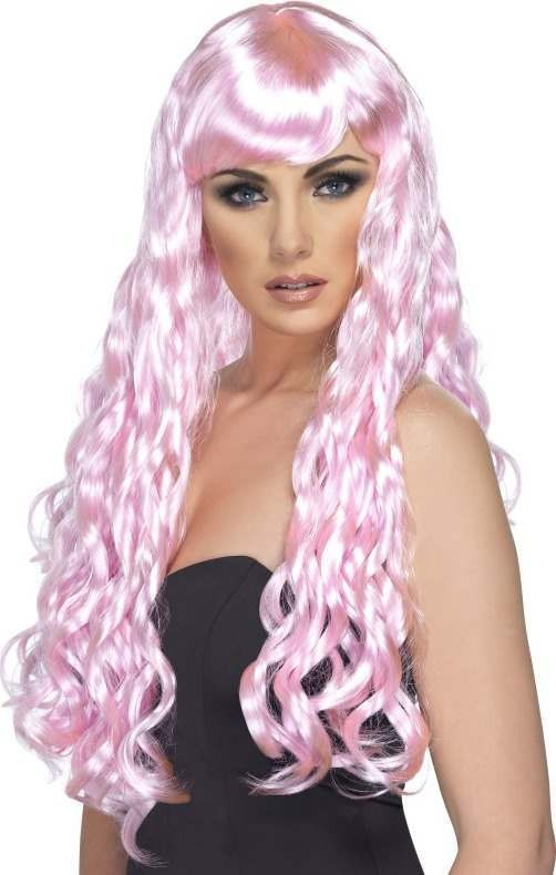 Desire Wig (Christmas Wigs) - Pink