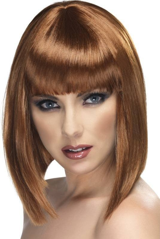 Glam Wig (Christmas Wigs) - Brown