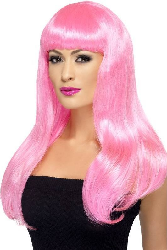 Babelicious Wig Wigs - (Pink)