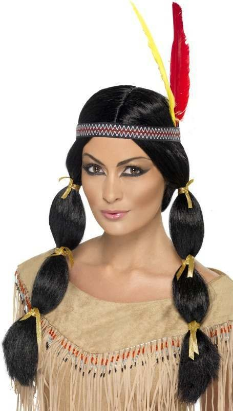 Indian Wig Wigs - (Black)