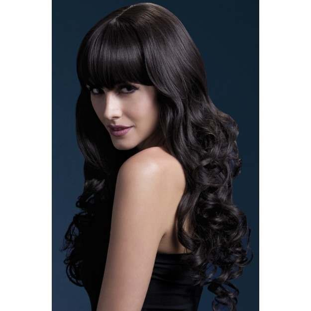 Fever Isabelle Wig, 26Inch/66Cm Wigs - (Brown)