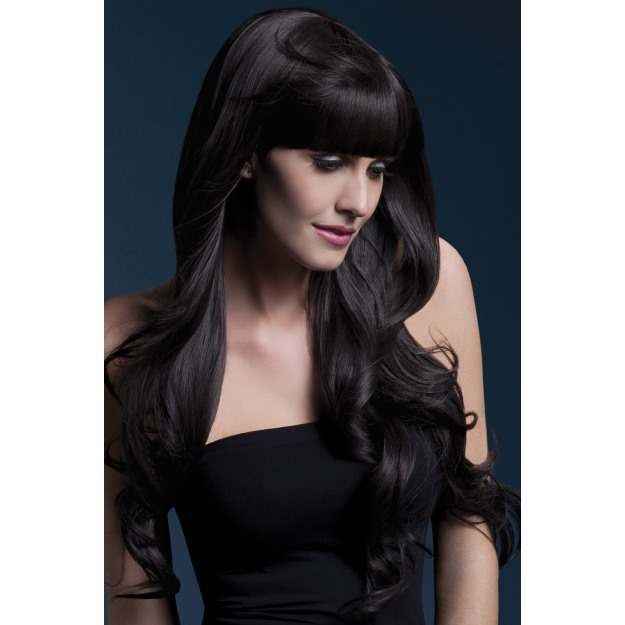 Fever Yasmin Wig, 28Inch/71Cm Wigs - (Brown)