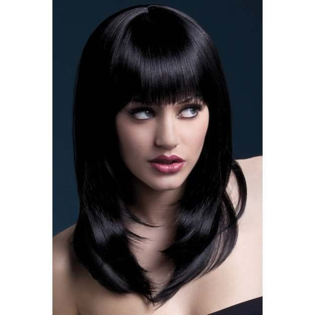 Fever Tanja Wig, 19Inch/48Cm Wigs - (Black)