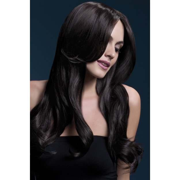 Fever Khloe Wig, 26Inch/66Cm Wigs - (Brown)