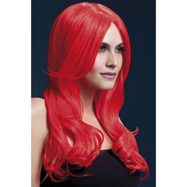 Fever Khloe Wig, 26Inch/66Cm Wigs - (Red)