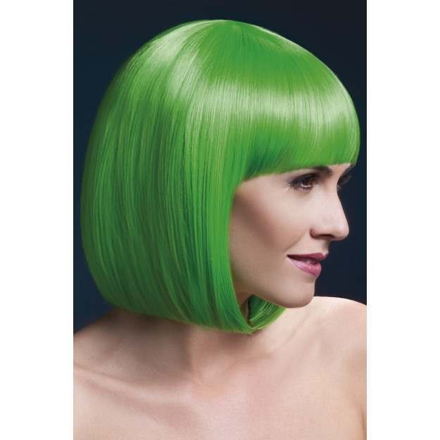 Fever Elise Wig, 13Inch/33Cm Wigs - (Green)