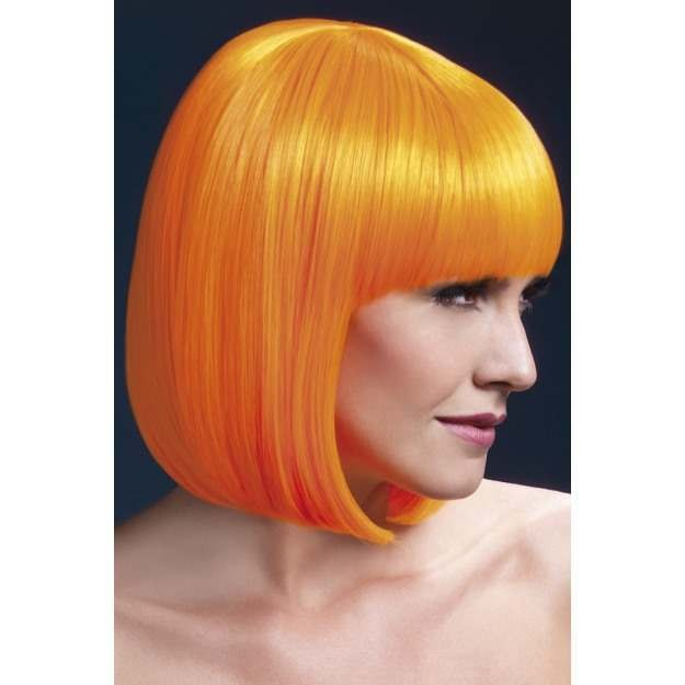 Fever Elise Wig, 13Inch/33Cm Wigs - (Orange)