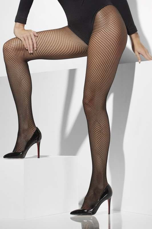 Fishnet Tights Tights Plus size - (Black)