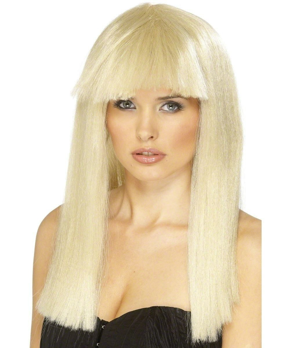 Ladies Pageboy Wig Wigs - (Blonde)