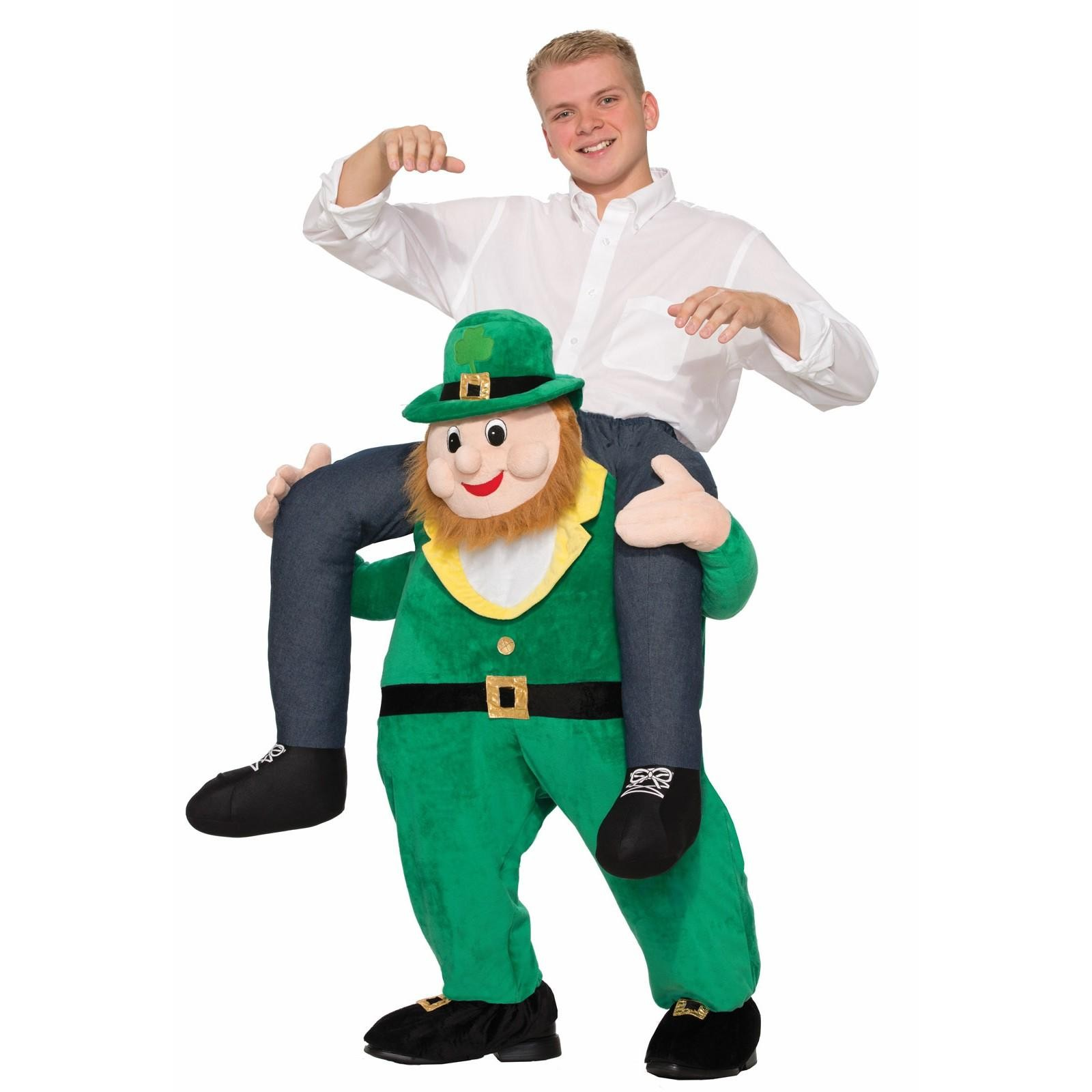 Once Upon A Time Leprechaun Piggy Back Fancy Dress Costume