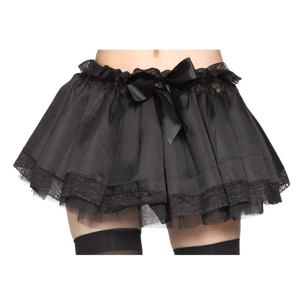 Ladies Deluxe Black Tutu (Plus Size) Tutus - Plus Size (Black)
