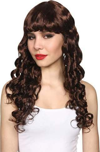 Ladies Seductress Wig- Brown Wigs - (Brown)